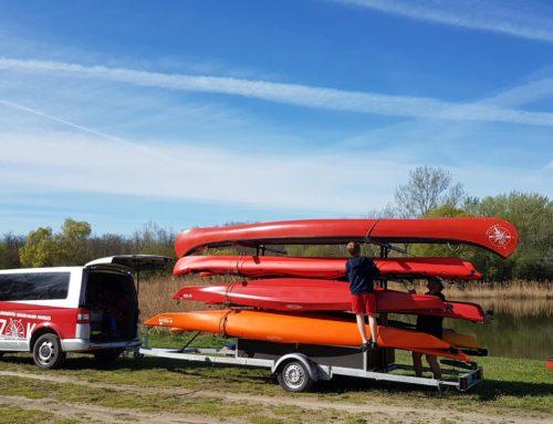 2018. 05. 25-27. Balatoni kajak + jóga tábor / Kayak + yoga at Balaton